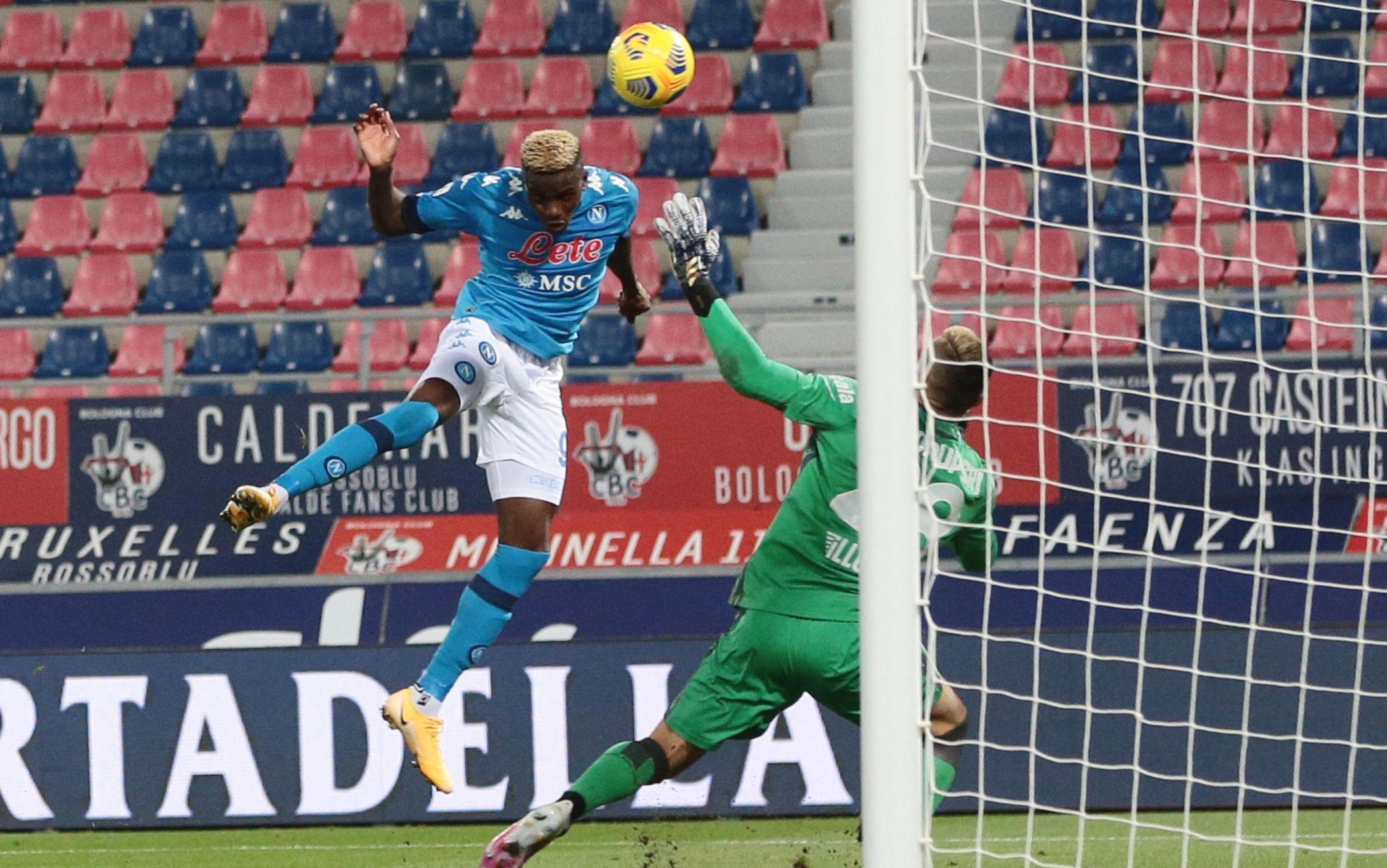 Serie A, Bologna-Napoli in tempo reale