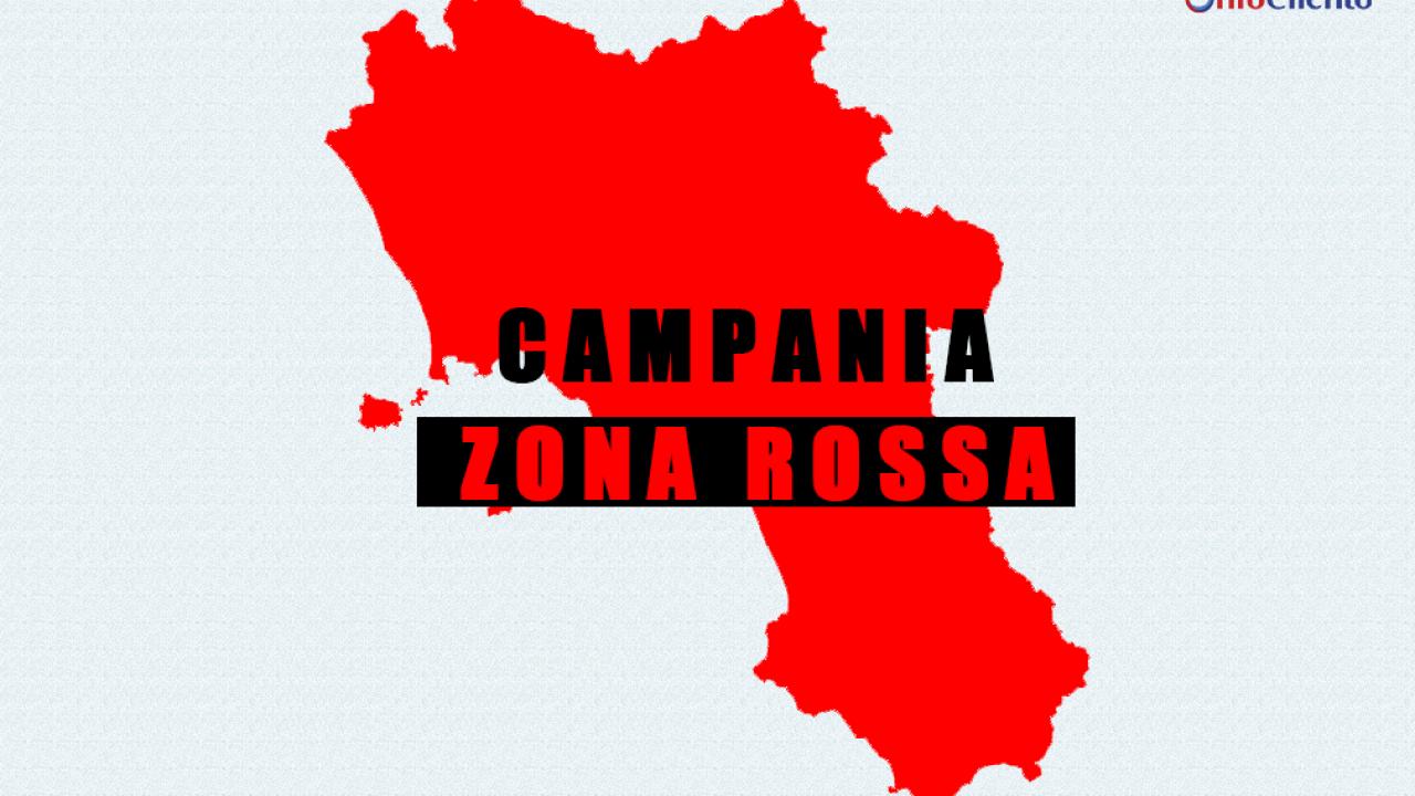 Ecco come sarà rossa la Campania