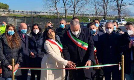 Scafati: aperta la bretella M3 della SS268 in via Sant'Antonio Abate