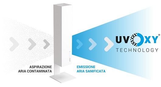 Nocera Superiore: proposta dell'ingegnere-consigliere Minardi per sanificatori tecnologia uvOxy nelle aule scolastiche