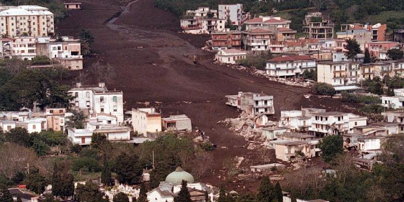 Cambiamenti climatici, un modello per prevedere le frane in Campania