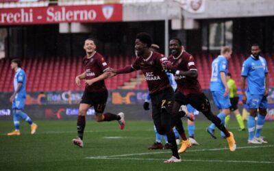 Serie B: la Salernitana torna a vincere