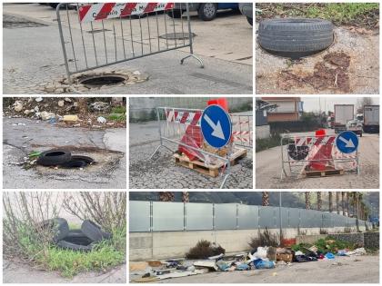 Sarno: Area Pip, strade distrutte ed allagate