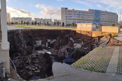 La voragine dell'Ospedale del Mare, non andava costruito lì. L'ipotesi d Legambiente Iride.