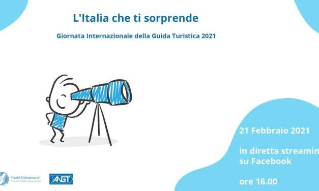 L'Italia che ti sorprende, una maratona di bellezza virtuale per la giornata Internazionale della guida turistica