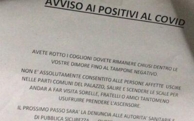 CASTELLAMMARE: L'ASSURDO VOLANTINO CHE CIRCOLA IN QUESTE ORE