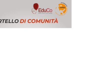 """Progetto """"Edu.Co. Educativi-Comuni /Comuni-Educativi"""", attivi gli sportelli di Comunità e Scuola-Famiglia-Territorio e le attività di potenziamento degli apprendimenti scolastici"""
