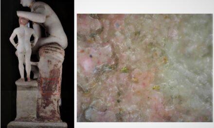 MANN luogo di ricerca. Parte ECOValors, nuovo progetto per preservare il colore delle statute antiche