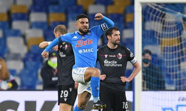 26^ Serie A: Insigne trascina il Napoli, sconfitto il Bologna di Mihajlovic – di Francesco Buonaiuto