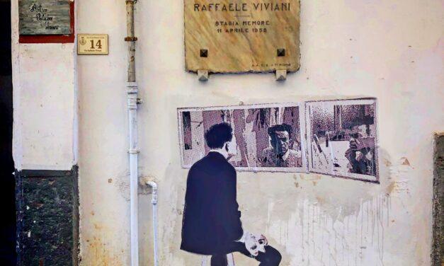 Un murales per Raffaele Viviani. A Castellammare l'opera di Nello Petrucci