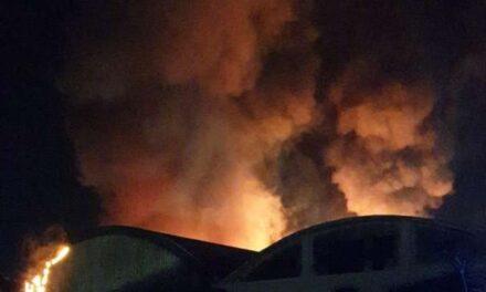 Nocera Inferiore: incendio doloso alla Prologica di Montecorvino