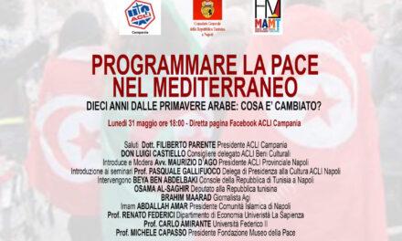 Mediterraneo, quale pace? Lunedì 31 maggio un incontro promosso da Acli
