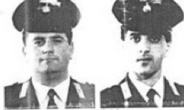Salerno: una strada per ricordare il sacrificio di Pezzuto e Arena