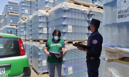 Angri: Scoperto scarico non autorizzato in una fabbrica