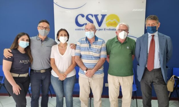 CSV Napoli, Nicola Caprio confermato presidente