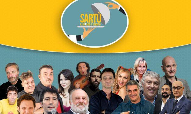 """""""Sartù : il Sorriso è servito"""": nel cast anche Maurizio Mattioli, Enzo Salvi, Fabrizio Gaetani, Alessandro Serra"""