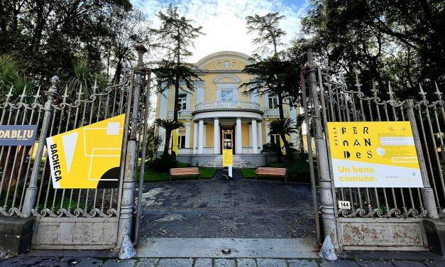 Inaugurata Villa Fernandes a Portici: un bene confiscato da progetto ad esperienza