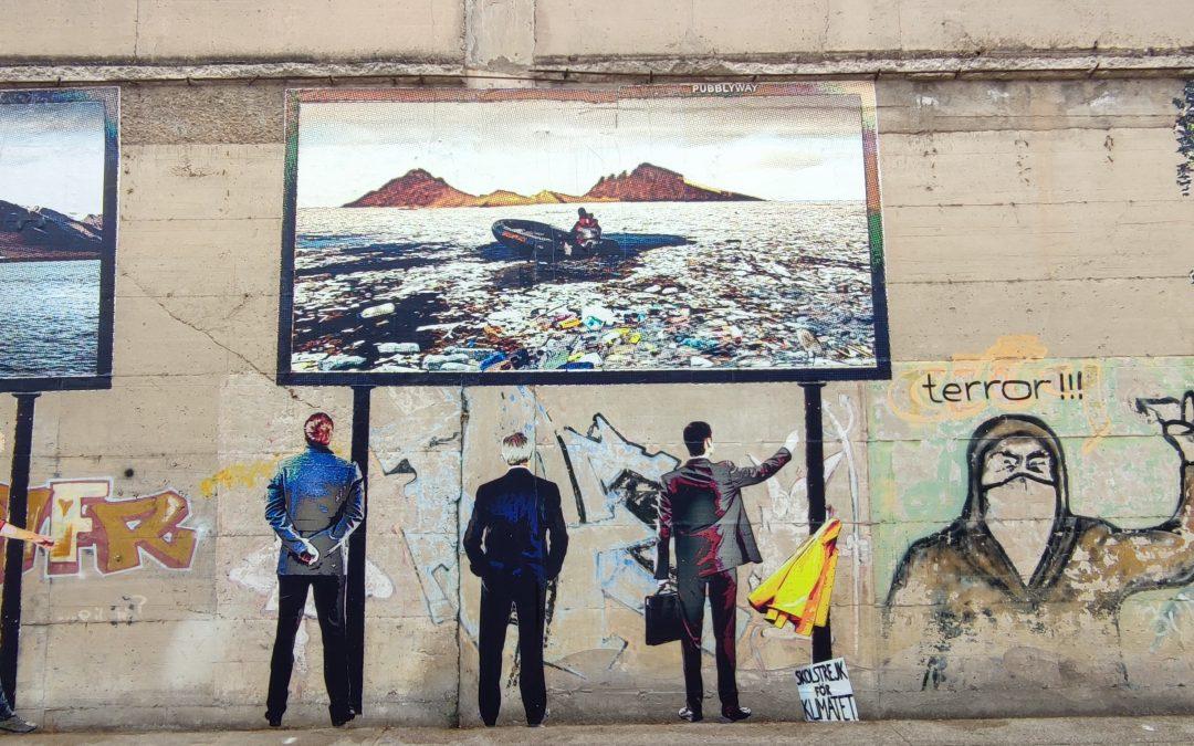 Nello Petrucci inaugura a Castellammare Imago, un'opera in via De Gasperi. Aspettando lo Stabiae Street Art di settembre