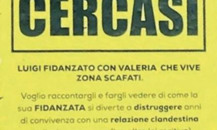 Scafati: continua la telenovela tra corna sputtanate e marketing…