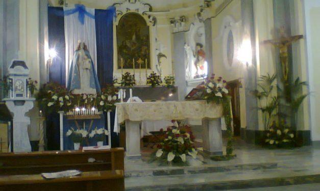 Tramonti: furto sacrilego, danneggiata la statua della Madonna