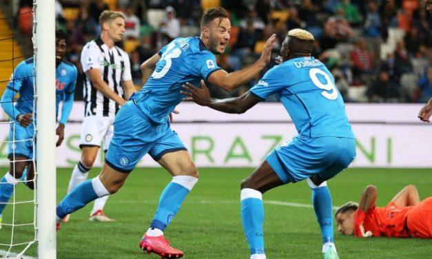 Canta il Napoli: 4 gol alla Samp e primato solitario confermato