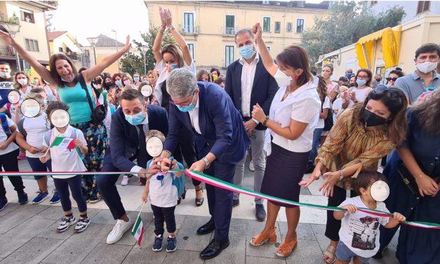 CAVA DE' TIRRENI: PASSIANO IN FESTA PER LA RIAPERTURA DELLA SCUOLA