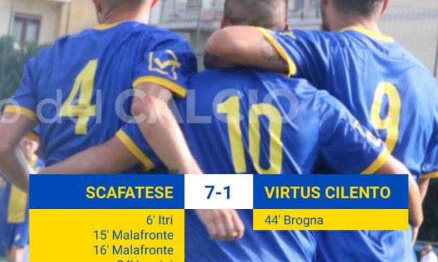 Eccellenza: super Scafatese, sette gol in 90 minuti