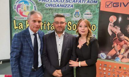 Finalmente ci siamo. Si terrà domani la Partita del Sorriso a Scafati, il triangolare per Mattia.