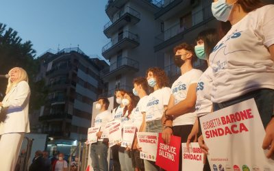 Salerno: la Barone vola nei sondaggi