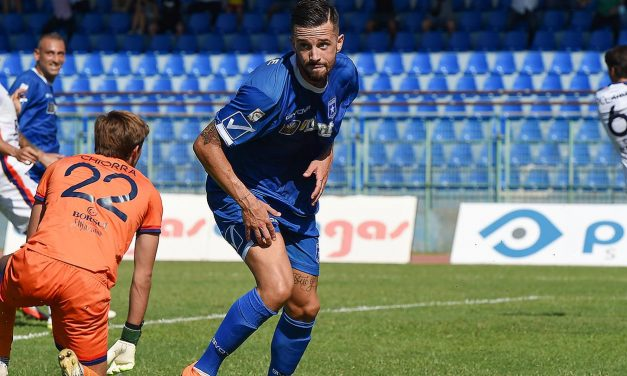 Paganese-Taranto 2-1, Piovaccari gela il Taranto in extremis