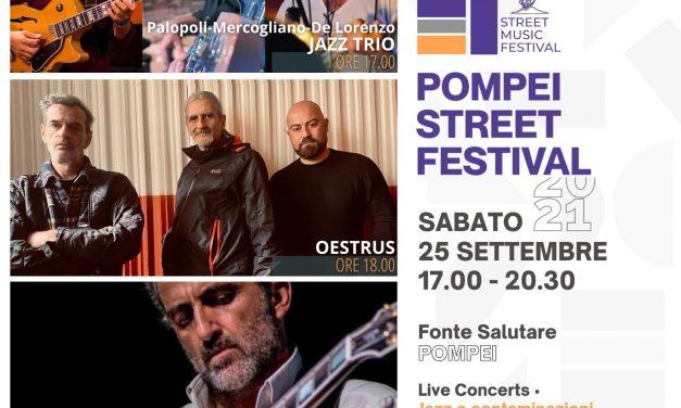 Pompei capitale della cultura: al via lo Street Festival