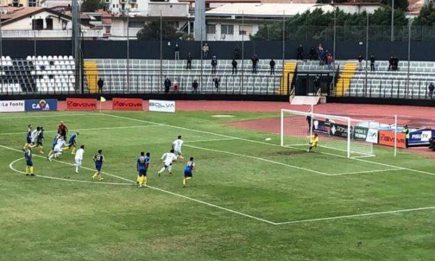 Serie D: Cavese-Giarre 1-1, sfuma in extremis la quinta vittoria aquilotta