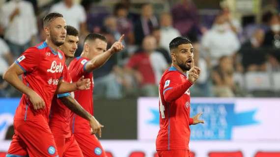La capolista se ne va: il Napoli vince anche a Firenze e fa sette su sette